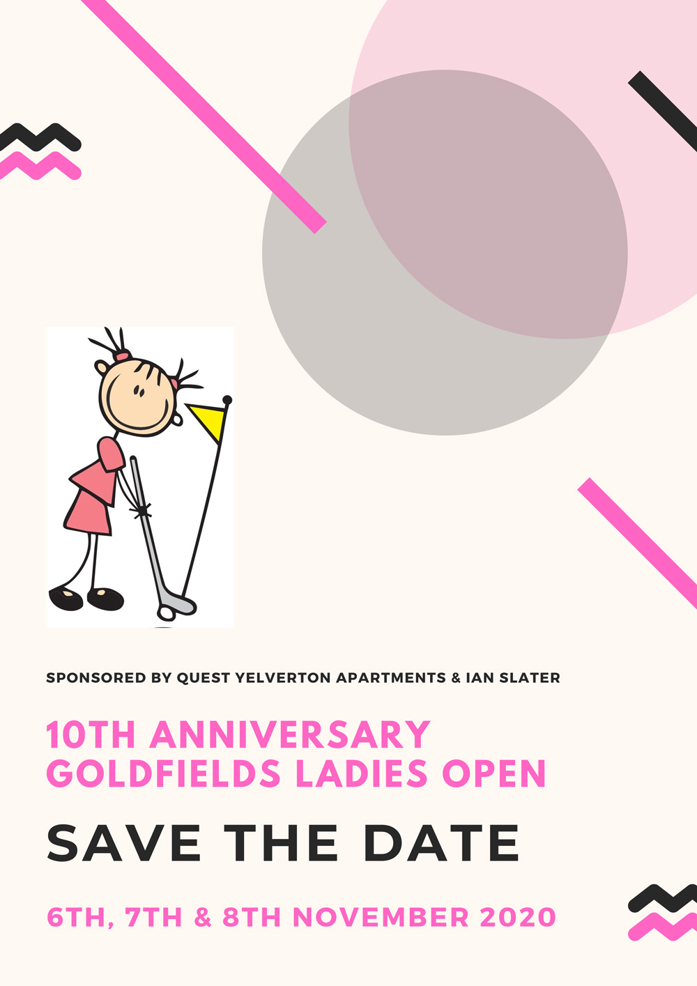 2020 11 Poster Ladies Open