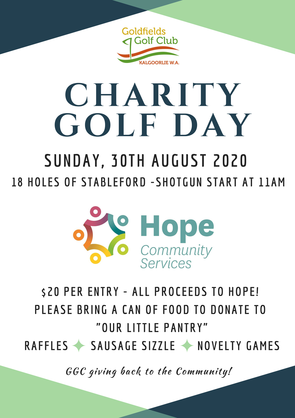 2020 08 Charity Golf Day
