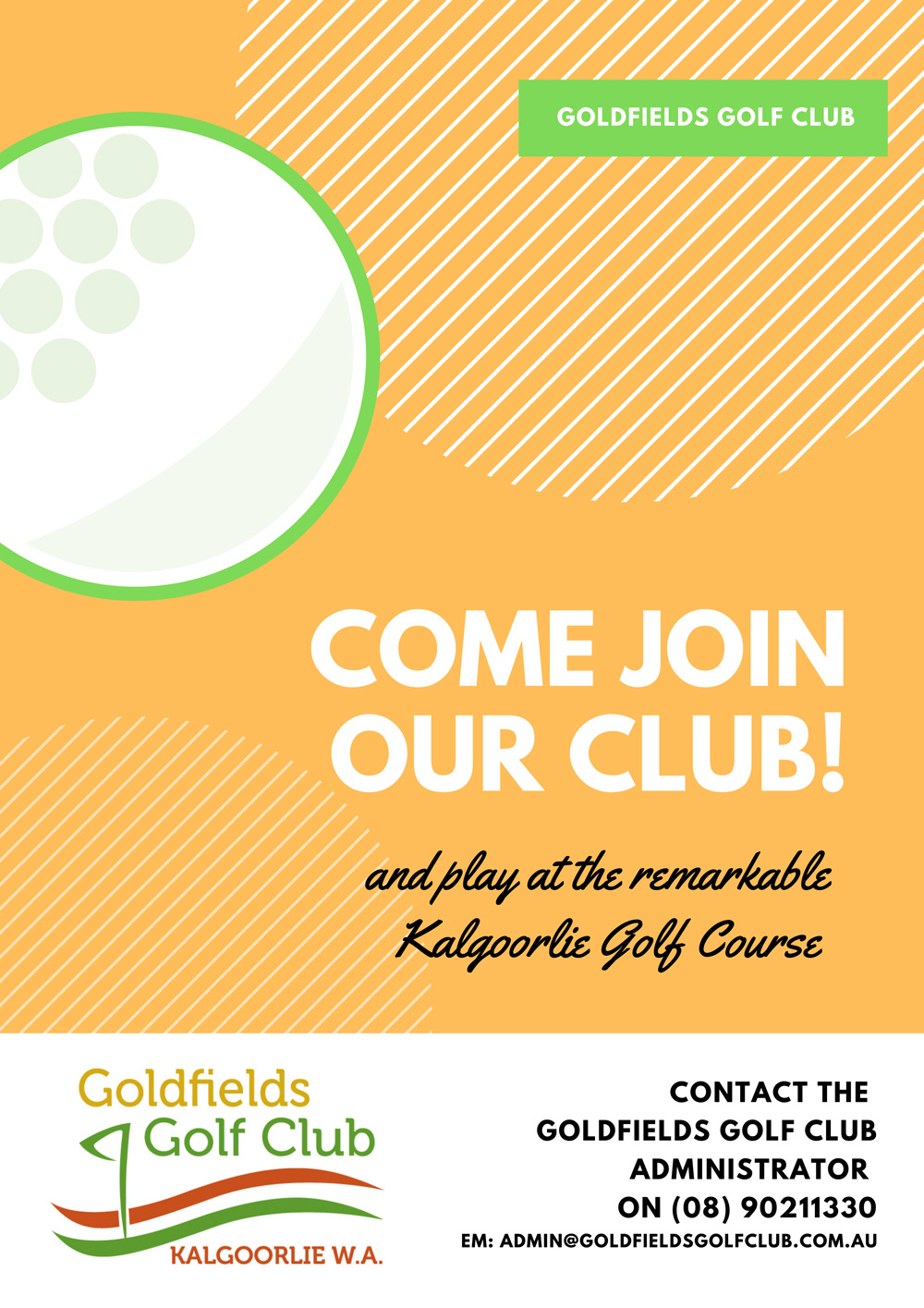Come Join our Club